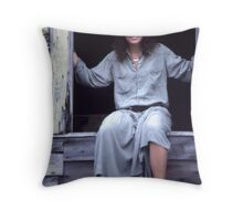 Portrait in Kodachrome KH18 Throw Pillow