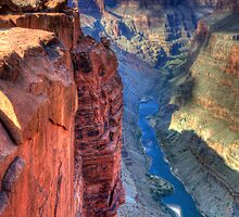 The Grand Canyon Toroweap by Bob Christopher