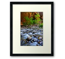 The Narrows Time Passages Framed Print