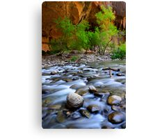The Narrows Time Passages Canvas Print