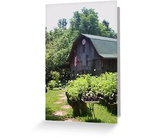 LOVELY BARN IN UTICA, INDIANA Greeting Card