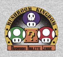 Mushroom Roulette League Kids Clothes