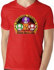 Mushroom Roulette League Mens V-Neck T-Shirt