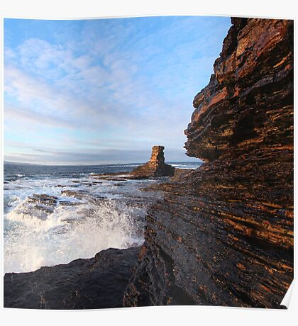 Tower o' Men o' Mey, Caithness & Orkney Poster