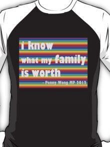 Penny Wong rainbow sticker T-Shirt