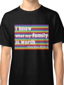 Penny Wong rainbow sticker Classic T-Shirt