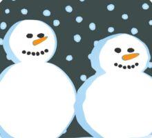 Let it snow Sticker