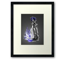 Rainbow Punk: Indigo Assasin Framed Print