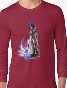 Rainbow Punk: Indigo Assasin Long Sleeve T-Shirt