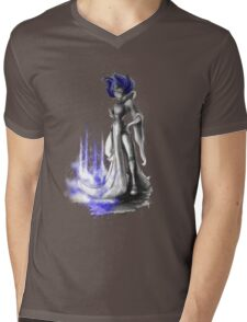 Rainbow Punk: Indigo Assasin Mens V-Neck T-Shirt