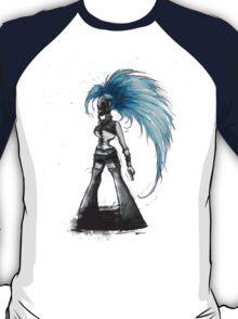 Rainbow Punk: Cybernetic Blue T-Shirt
