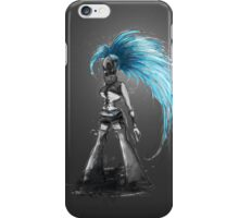 Rainbow Punk: Cybernetic Blue iPhone Case/Skin