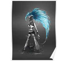 Rainbow Punk: Cybernetic Blue Poster