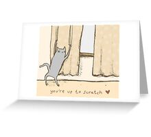 Cat Approval Greeting Card
