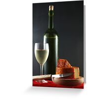 White and Pepper Cheese Greeting Card