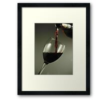 Say When Framed Print