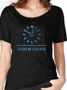 Retro BBC clock  Women's Relaxed Fit T-Shirt
