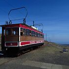 Railcar No 6, Snaefell Mountain Railway by wiggyofipswich