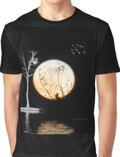 Super Moon Light (T-Shirt) Graphic T-Shirt