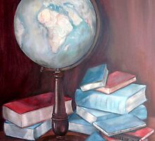 The World is a Book by Fannyja