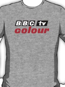Retro BBC colour logo, as seen at Television Centre T-Shirt