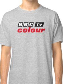 Retro BBC colour logo, as seen at Television Centre Classic T-Shirt