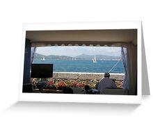 THE DIRECTOR OF THE REGATA . S.TROPEZ -FRANCIA-EUROPA -2000 VISUALIZZAZ .MAGGIO 2013-  VETRINA RB EXPLORE 25 MAGGIO 2012 ...WOW! Greeting Card