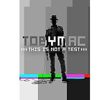 TobyMac This Is Not A Test Tour 2015 Toby Mac Rey4 Photographic Print