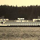 Washington State Ferry by Samuel Schaar