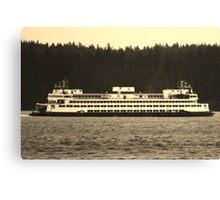Washington State Ferry Canvas Print