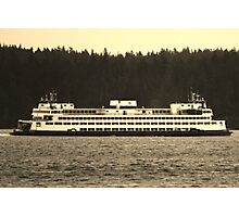Washington State Ferry Photographic Print