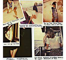 '89 Collage Photographic Print