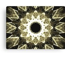 Beige Star Canvas Print