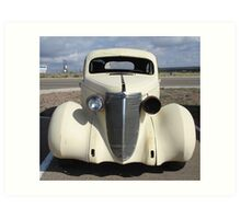 Old Car, Route 66 Art Print