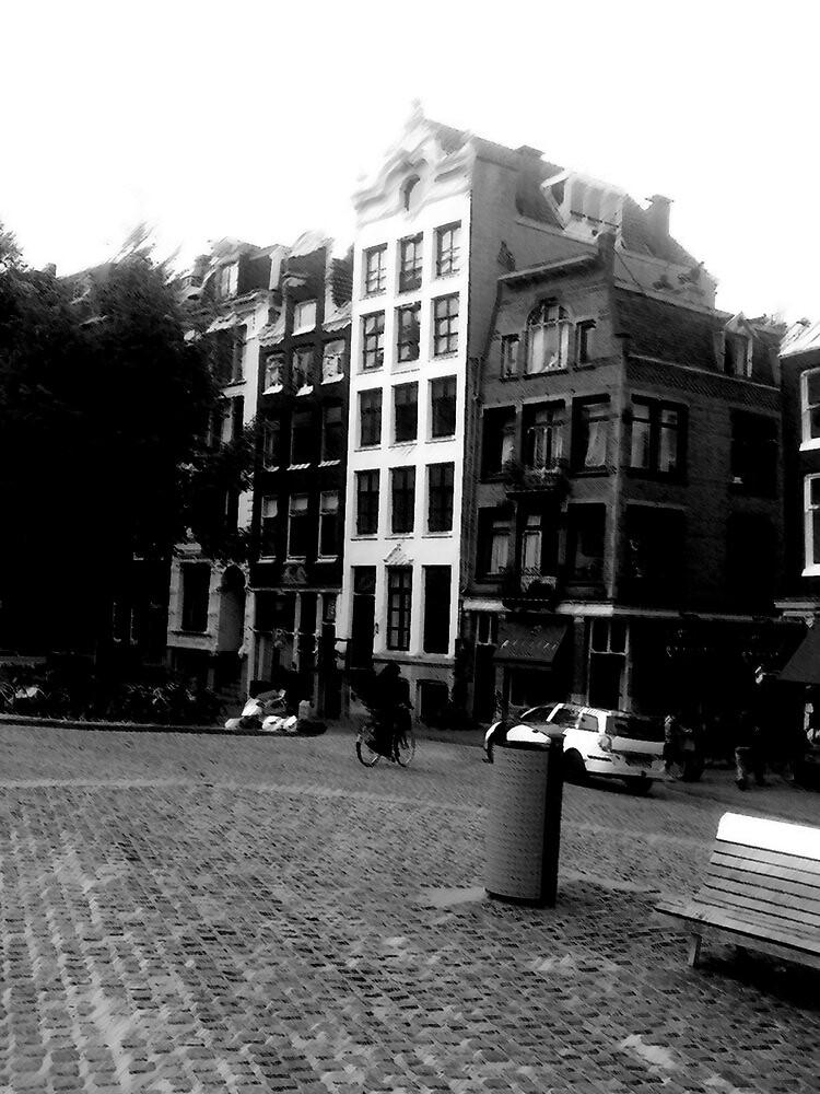 Amsterdam in Black and White by Zozzy-zebra