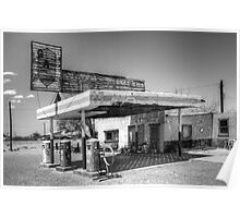 Route 66 Garage California Poster