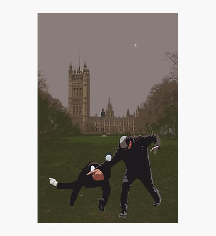 London Matrix, Martial arts Smith Photographic Print
