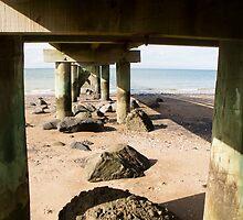 under the jetty by Anne Scantlebury