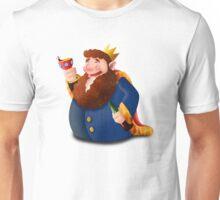 Drunk king Unisex T-Shirt
