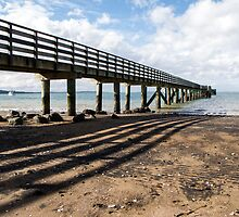 the jetty shadow by Anne Scantlebury