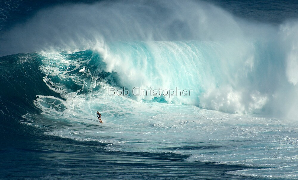 Surfing Jaws The Green Zone by Bob Christopher