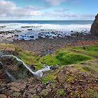Tea Tree Creek Meets the Sea by Jim Worrall