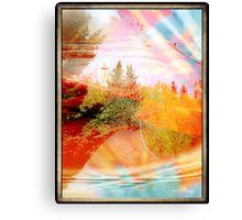 Embrace of colors Canvas Print