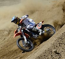 Motocross Dust Devil by Bob Christopher