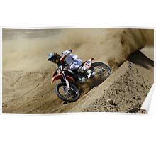 Motocross Dust Devil Poster
