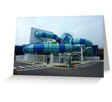 *New pool to replace older one - Hoppers Crossing Vic. Australia** Greeting Card