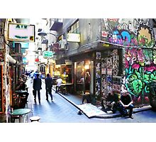 Degraves Street, Melbourne Photographic Print