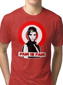 Billie Jean - FAIR IS FAIR Tri-blend T-Shirt