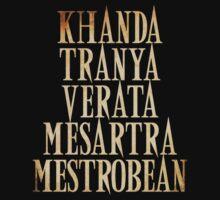 Khanda Tranya Verata Mesartra Mestrobean by Yithian