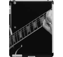 Sweet sounds in black and white iPad Case/Skin